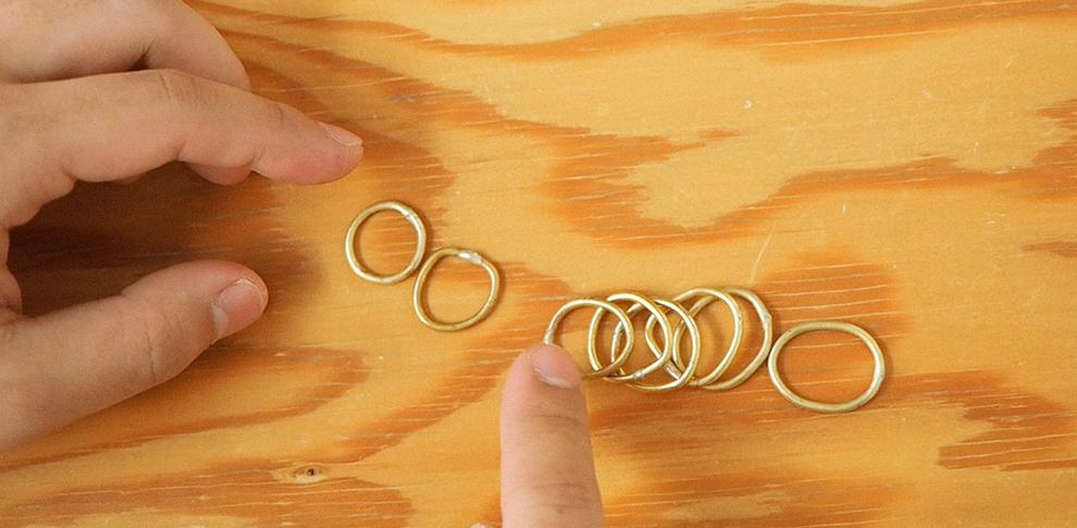 手作りペアリングの『名もなき指輪』 -NAMELESS RING-