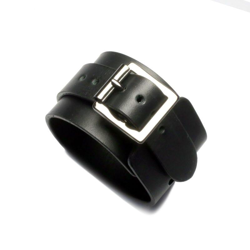 【JAM HOME MADE(ジャムホームメイド)】シングルバックルブレスレット -LaVish- メンズ ブラック レザー 牛革 人気 ブランド おすすめ ギフト プレゼント シンプル