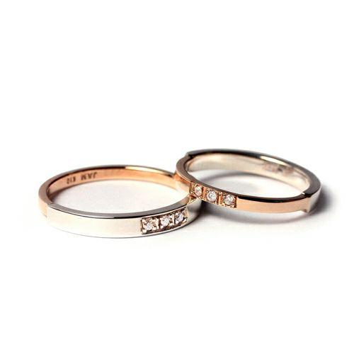 【ジャムホームメイド(JAMHOMEMADE)】ジャム フラット ラブ リング M / 指輪