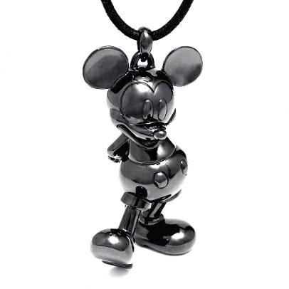 """【JAM HOME MADE(ジャムホームメイド)】ミッキー""""MICKEY"""" ネックレス XXXL メンズ シルバー ブラック 925 人気 ブランド おすすめ ディズニー"""
