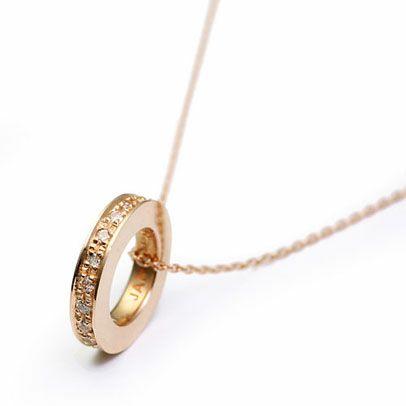 【JAM HOME MADE(ジャムホームメイド)】フラットダイヤモンドネックレススター - K10 YELLOW GOLD -レディース ゴールド チェーン 人気 ブランド おすすめ プレゼント シンプル ダイヤモンド