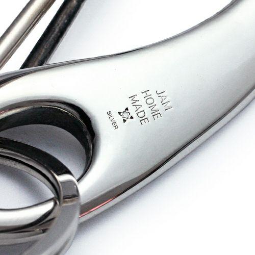 【JAM HOME MADE(ジャムホームメイド)】ビッグワン / キーホルダー メンズ シルバー 925 ブランド おすすめ 人気 日本製 受注生産 鍵  フック ベルト キーリング