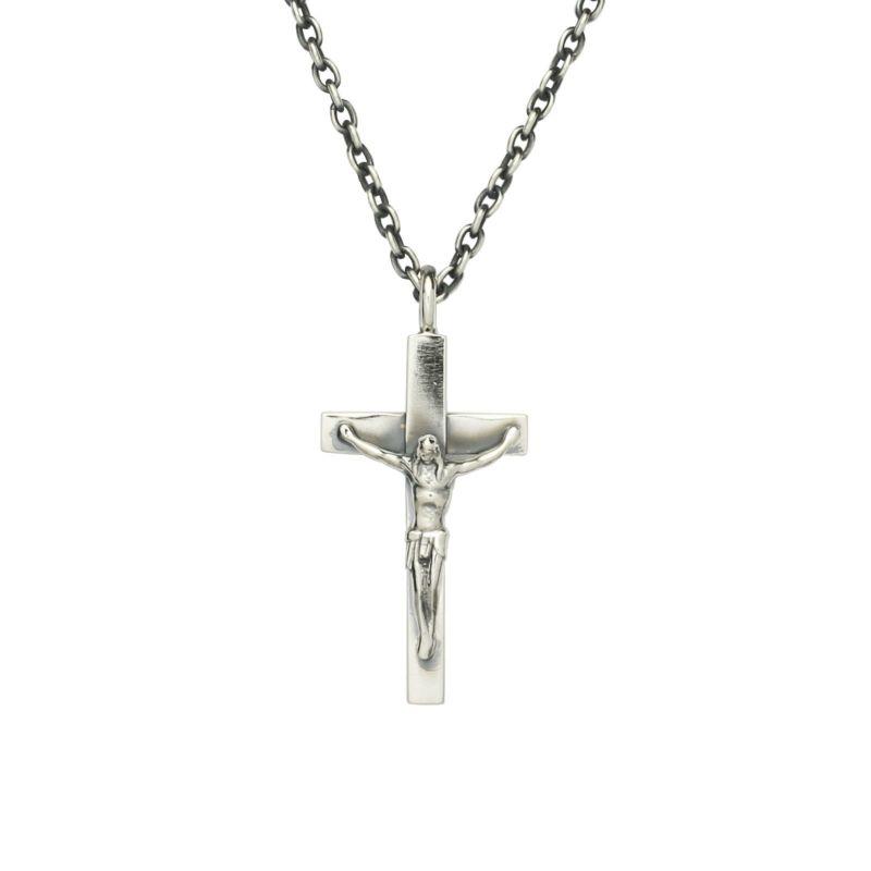 ネックレス / ロザリオネックレス S メンズ シルバー 925 チェーン クロス モチーフ 十字架 王道 人気 ブランド おすすめ プレゼント