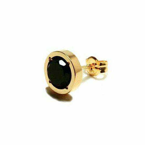 【JAM HOME MADE(ジャムホームメイド)】オニキスピアス -K18YG- メンズ ゴールド ONYX 片耳 シンプル 人気 おすすめ ブランド プレゼント 誕生日 ギフト
