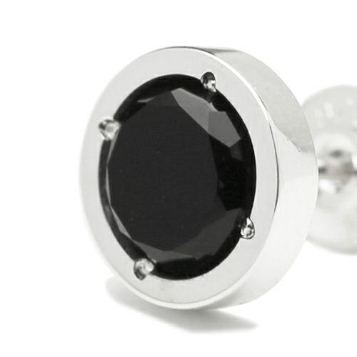 【JAM HOME MADE(ジャムホームメイド)】オニキスピアス -SILVER- メンズ シルバー 925 ONYX 片耳 シンプル 人気 おすすめ ブランド プレゼント 誕生日 ギフト