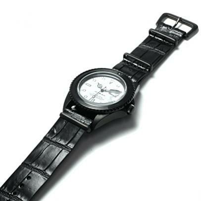リアルクロコダイル&カーフナトーウォッチバンド / 腕時計