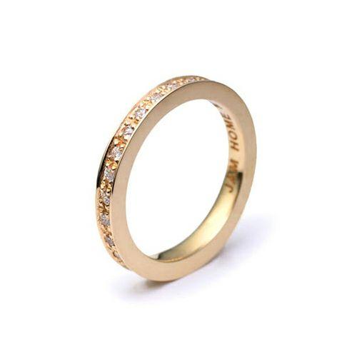 指輪 / フラットダイヤモンドリングスター S -K10YELLOWGOLD- レディース ゴールド 人気 おすすめ ブランド ペア プレゼント ギフト 記念日 クリスマス