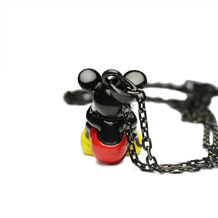 【ジャムホームメイド(JAMHOMEMADE)】ミッキー ネックレス タイプ2 - フルカラー