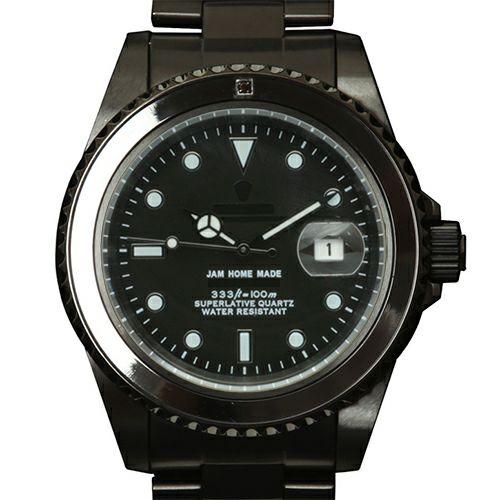 ジャムダイヤモンドウォッチ -BLACK- / 腕時計