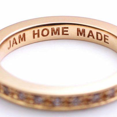 指輪 / フラットダイヤモンドリングスター S -K10PINKGOLD- レディース ゴールド 人気 おすすめ ブランド ペア プレゼント ギフト 記念日 クリスマス