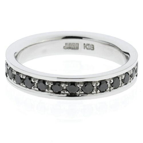 【ジャムホームメイド(JAMHOMEMADE)】カットレスエターナルリング M -K18WG- / 結婚指輪・マリッジリング