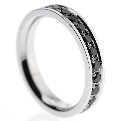 カットレスエターナルリング M -K18WG- / 結婚指輪・マリッジリング