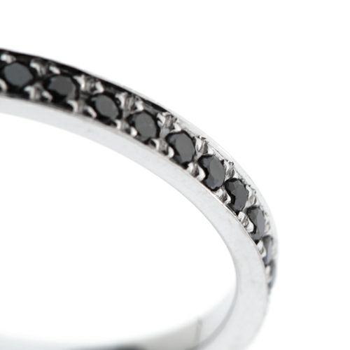 【JAM HOME MADE(ジャムホームメイド)】カットレスエターナルリング S -K18WG- / 結婚指輪・マリッジリング ウエディングリング