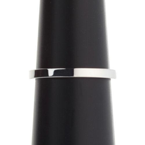 【ジャムホームメイド(JAMHOMEMADE)】カットレスリング S -K18WG- / 結婚指輪・マリッジリング