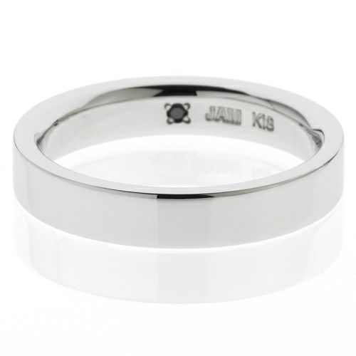 【JAM HOME MADE(ジャムホームメイド)】カットレスリング M -K18WG- / 結婚指輪・マリッジリング ウエディングリング