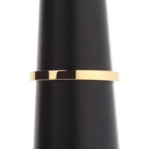 結婚指輪・マリッジリング ウエディングリング / カットレスリング S -K18YG-