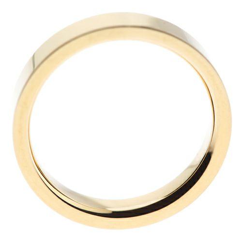 結婚指輪・マリッジリング ウエディングリング / カットレスリング M -K18YG-