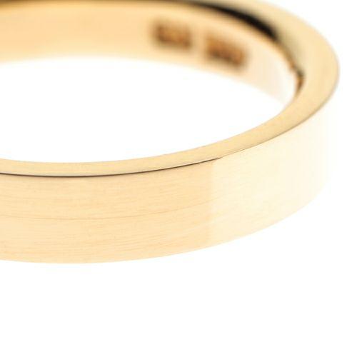 【JAM HOME MADE(ジャムホームメイド)】カットレスリング M -K18YG- / 結婚指輪・マリッジリング ウエディングリング
