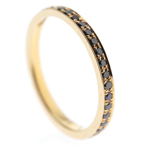 【JAM HOME MADE(ジャムホームメイド)】カットレスエターナルリング S -K18YG- / 結婚指輪・マリッジリング ウエディングリング