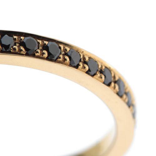 結婚指輪・マリッジリング ウエディングリング / カットレスエターナルリング S -K18YG-