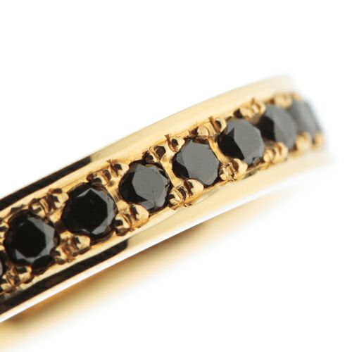 【ジャムホームメイド(JAMHOMEMADE)】カットレスエターナルリング M -K18YG- / 結婚指輪・マリッジリング
