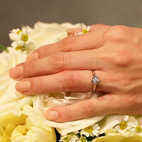 【JAM HOME MADE(ジャムホームメイド)】3RD ダイヤモンドクラシックリング / 婚約指輪・エンゲージリング ウエディングリング