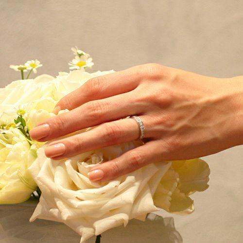 3RD ダイヤモンドモダンリング / 婚約指輪・エンゲージリング