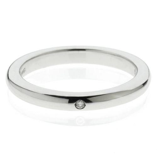 """結婚指輪・マリッジリング ウエディングリング / シークレットスターミッキー""""MICKEY""""リング M -K18WG-"""