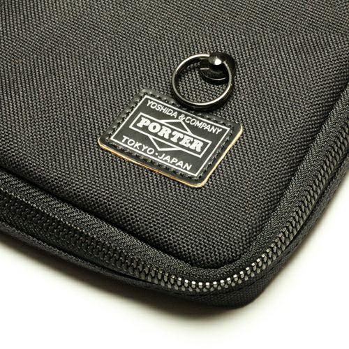 旅行用カバン / ポーター/PORTER IPAD・NOTEケース メンズ レディース ユニセックス タブレット PCケース ブラック