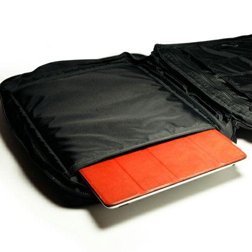 【JAM HOME MADE(ジャムホームメイド)】ポーター/PORTER IPAD・NOTEケース メンズ レディース ユニセックス タブレット PCケース ブラック