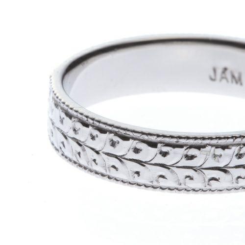 """【JAM HOME MADE(ジャムホームメイド)】リトルマーメイド - """"The Little Mermaid"""" マリッジリング M / 結婚指輪・マリッジリング ウエディングリング"""