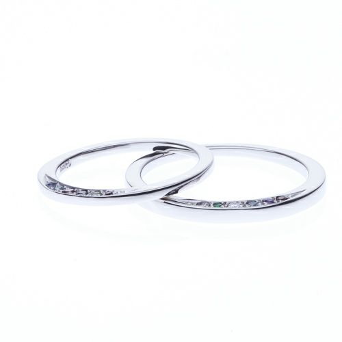 結婚指輪・マリッジリング ウエディングリング / ディズニーアニメーション『美女と野獣』のマリッジリング M
