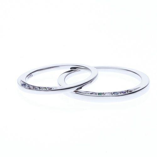 【ジャムホームメイド(JAMHOMEMADE)】ディズニーアニメーション『美女と野獣』のマリッジリング S / 結婚指輪・マリッジリング