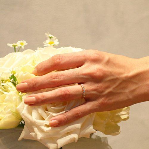 婚約指輪・エンゲージリング ウエディングリング / ディズニーアニメーション『美女と野獣』のエンゲージリング -K18 PG-