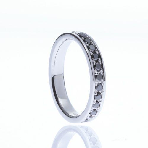 【JAM HOME MADE(ジャムホームメイド)】カットレスエターナルリング M -PT900- / 結婚指輪・マリッジリング ウエディングリング