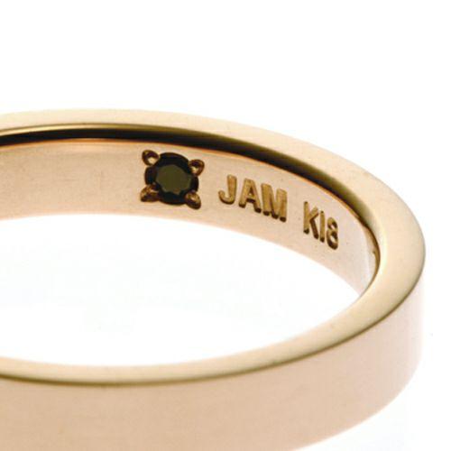 【JAM HOME MADE(ジャムホームメイド)】カットレスリング LIMITED -K18PG- / 結婚指輪・マリッジリング ウエディングリング