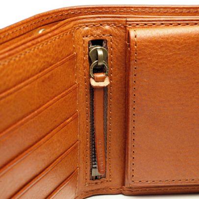 二つ折り財布 / ミネルバボックスミディアムウォレット -BROWN-