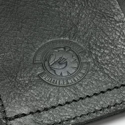 【JAM HOME MADE(ジャムホームメイド)】神山 健治 - PH9KK (Kenji Kamiyama) モデルウォレット / 二つ折り財布 メンズ レザー ブラック ウォレットチェーン コラボ シンプル