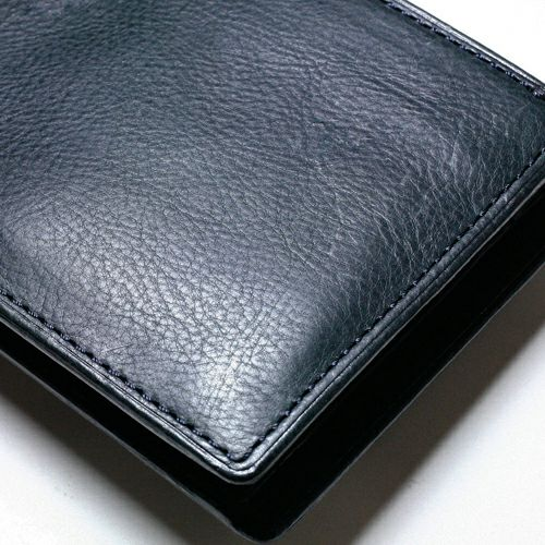 二つ折り財布 / ミネルバボックスミディアムウォレット -NAVY-