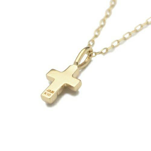 ネックレス / ロイヤルスタッズクロスネックレス S -K10 YELLOW GOLD- レディース ゴールド チェーン クロス モチーフ 十字架 人気 ブランド おすすめ プレゼント