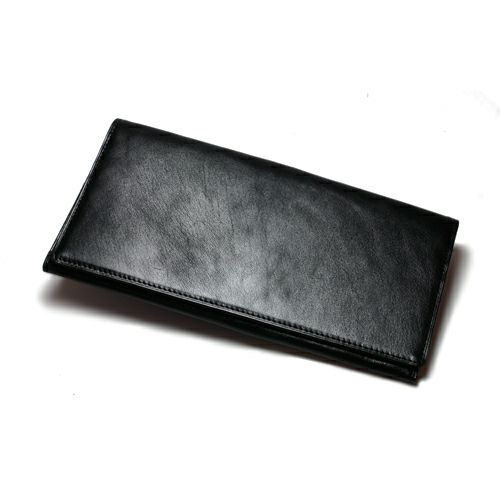 長財布 / 富野 由悠季 - OIYT (OFFICE I Yoshiyuki Tomino) モデルウォレット メンズ レザー ブラック バーガンディー カード 小銭入れ 薄型 スーツ ギフト プレゼント 父の日