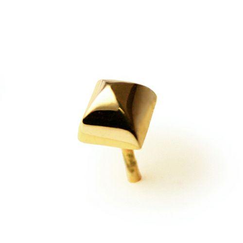 【JAM HOME MADE(ジャムホームメイド)】ロイヤルスタッズピアス -K10YELLOWGOLD- レディース ゴールド 両耳 シンプル 人気 おすすめ ブランド プレゼント 誕生日 ギフト