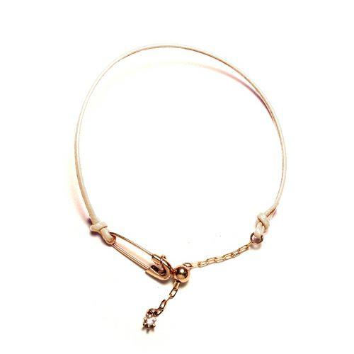 ブレスレット / セーフティピンダイヤモンドブレスレット メンズ レディース シルバー 925 シンプル おすすめ ブランド 人気 プレゼント ダイヤモンド 安全ピン