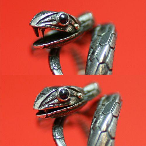 【JAM HOME MADE(ジャムホームメイド)】坂元勝彦 2013年干支 ゾデイアックリング -巳(蛇)- / 指輪
