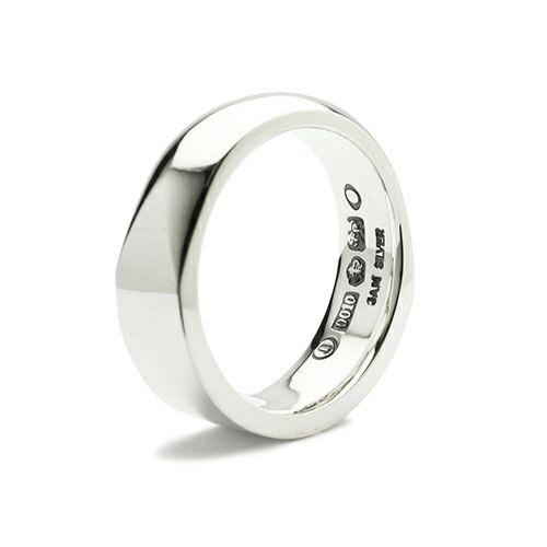 ミックスフラット&ラウンドリング M / 指輪
