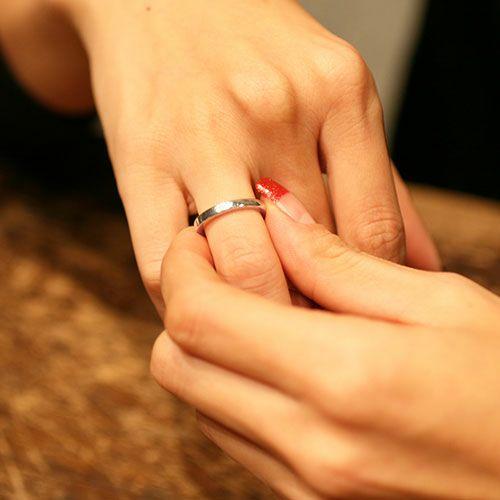 【JAM HOME MADE(ジャムホームメイド)】ミックスフラット&ラウンドリング S / 指輪 メンズ レディース シルバー ペア 人気 おすすめ ブランド ギフト プレゼント クリスマス 記念日