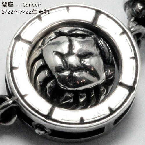 【JAM HOME MADE(ジャムホームメイド)】坂元勝彦 12星座 コンパス リング -BLUE- / 指輪
