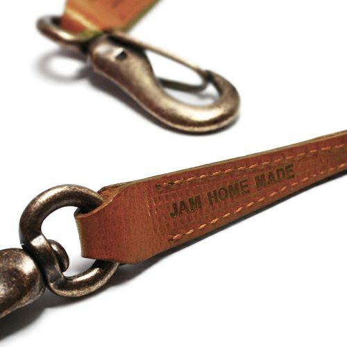 【JAM HOME MADE(ジャムホームメイド)】ミネルバボックスウォレットコード S -BROWN-