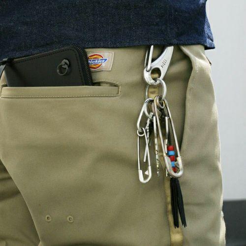 小物 / ビッグワン -MIDDLE- メンズ シルバー 925 鍵 強度 キーホルダー ブランド キーリング アクセリー フック ベルト おすすめ
