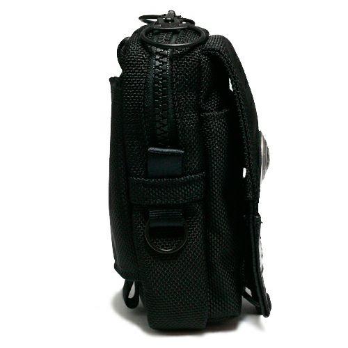 【JAM HOME MADE(ジャムホームメイド)】ポーター/PORTER モバイルケース -CONCHO- メンズ レディース ユニセックス ブラック コーデュラ PVC